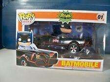 Funko PoP 1966 Batmobile and Batman new in box