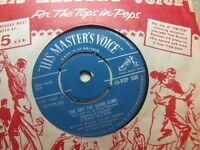 "Ronnie Hilton – The Day The Rains Came 1958 7"" HMV POP 556"