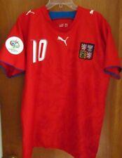 CZECH REPUBLIC World Cup 2006 soccer jersey Tomas Rosicky FIFA futbol XL