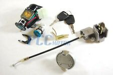 IGNITION KEY SWITCH LOCK SYSTEM 5 Wire 49CC 50CC SCOOTER MOPED MOTORCYCLE I KS12