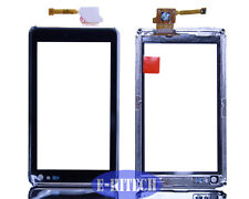nokia n8 silber lcd touchscreen digitizer pad vorne glasgestell fit + tools