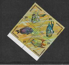 Burundian Block Thematic Postal Stamps