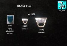DACIA Logo Pins original Abzeichen AUSSUCHEN