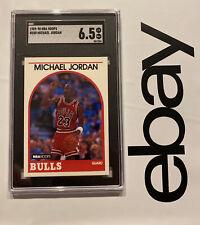 Michael Jordan SGC 6.5 Hoops Collector Card #200 Chicago INVEST Last Dance 1989