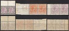 #1826 - Regno - Marche da bollo consolari in coppia, 1895 - Nuovi (** MNH)