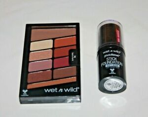 Wet n Wild Color Icon Eyeshadow #758 + Photofocus Stick #854B lot Of 2 New