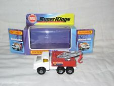 MIB 1975 Matchbox K-14 Recovery Vehicle, White w Shell Recovery in VG Org Box