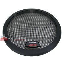 "ALPINE KTE-8G SWR8-D4 & SWR-8D2 Type R 8"" Subwoofer Metal Mesh Grill Sub New"