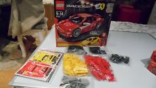 LEGO 8143 F430 FERRARI CHALLENGE with New Unused Stickers Boxed Great condition