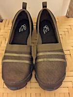 Easy Spirit Size 7, 360 Brown Metallic Mesh Slip On Shoes