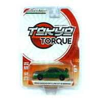 Greenlight 47010 Nissan Skyline GT-R (BNR34) grün 2000 - Tokyo Torque 1:64 NEU!°
