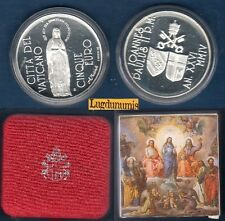 Coffret Vatican  - 5 Euro 2004 Argent Johannes Paul II Anno XXVI Boite + certif