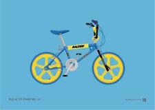 Raleigh Tuff Burner Burner – Old School BMX A4 Print – Retro gift
