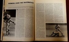 1968 Detroit Tigers Sports Illustrated - World Series Win Article, Magazine
