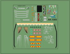 H0/1:87 DIS0303 Decals•für Scania S