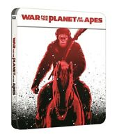 War for the Planet of the Apes Limited Edition Steelbook 1-Disc Blu Ray