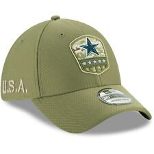 Dallas Cowboys Era 2019 Salute to Service Sideline 39thirty Hat Cap L/xl