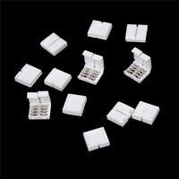 10x4-PIN RGB Stecker Adapter für 5050 RGB LED Streifen Lötfrei 10mm  DJ