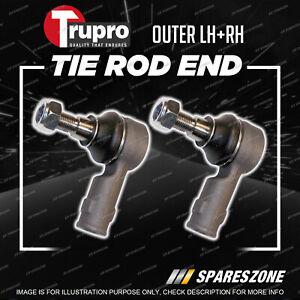Pair Trupro Outer Tie Rod Ends for Mercedes Benz Vito 638 Ser 108D 112D 113D Van