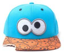 Barrio Sésamo - Gorra Snapback - Cookie Monster Ojos & Bite Motivo
