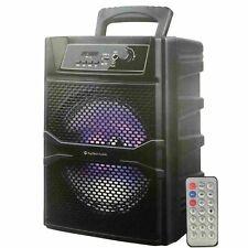 "8"" Bluetooth 1000 Watts Professional FM Radio Karaoke Multimedia Speaker - SKY8"