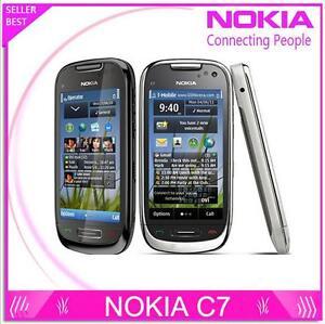 Nokia C7 C7-00 Original 3G Wifi A-GPS Java 8MP Camera 8GB Unlocked Mobile Phone