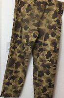 Vintage 70s Columbia Duck Camouflage Gore-Tex Pants Mens size Medium Camo