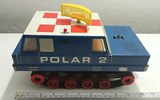 VINTAGE SPACE TOY ANKER PIKO MOONROVER POLAR 2 60's BATTERY OPERATED ORIGINAL