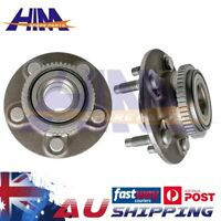 Pair 2x Front Wheel Bearing Hub for Ford Falcon AU BA BF Fairmont Territory ABS