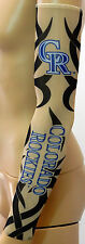 NEW! Colorado Rockies Black Tattoo Arm Sleeve Sun Block Nylon Baseball Digital