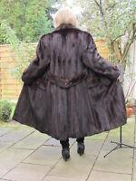 WOMEN XL 2XL MINK NERZ VINTAGE VISON норка Fur Coat Ladies D4271