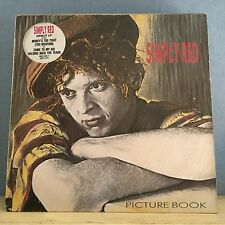 SIMPLY RED Picture Book 1985 UK Vinyl LP EXCELLENT CONDITION   A