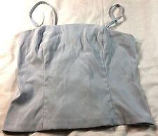 Pale blue spaghetti strap blouse, size 9/10