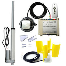 "Electric Solar Tracking Tracker Kits +8"" Linear Actuator +Controller +Anemometer"