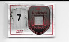 2018 LEAF IN THE GAME SPORTS MICKEY MANTLE JERSEY CARD # 2/3 YANKEES