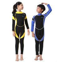 Hisea 2.5MM Neoprene Children Wetsuits Kids Swimwear Diving Winter Swimming Surf
