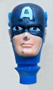 "1974 MARVEL COMICS 8"" mego wgsh figure -- CAPTAIN AMERICA -- Type 1 HEAD es"