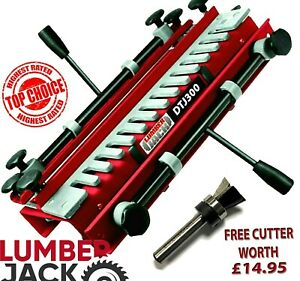 Lumberjack  300mm Dovetail Jig includes Comb Template & FREE Cutter worth £14.95