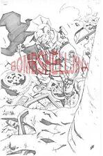 IMAGE COMICS SAVAGE DRAGON ORIGINAL ART BY JONATHAN LAU