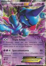 CARTA POKEMON  - TOXICROAK EX - 41/105 - 170 PS - FOIL - RARA - IN ITALIANO