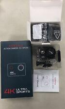 CooAu action Camera Cu-Spc05 4k Ultra Sports 16mp Waterproof to 40 meters