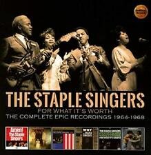 The Staple Singers - For What It's Worth - Complete Epic Recordings: 1 (NEW 3CD)
