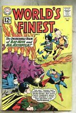 World's Finest Comics #123-1962 vg Batman Superman