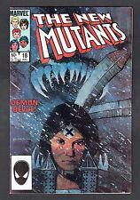 New Mutants #16 First Warlock Marvel 1984 VF/NM Con Signed by Bill Sienkiewicz