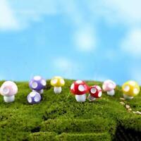 1*Stück Mini Mushroom Miniaturen Set Fairy Garden Dekor Ornament