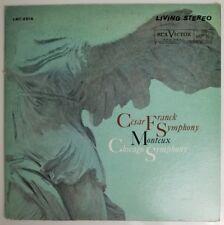 Cesar Franck Symphony Monteux Chicago Symphony LP Living Stereo LSC-2514