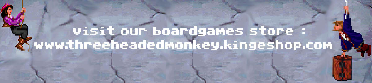 The three headed monkey