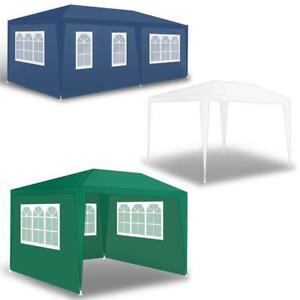 Pavillon Partyzelt Gartenzelt Gartenpavillon Camping Festzelt Seitenwände