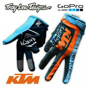 KTM Go Pro Motocross GLOVES!!! Enduro ATV FOX TLD Troy Lee Design TEAM New
