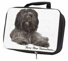 More details for tibetan terrier 'love you grandma' black insulated school lunch bo, ad-tt2lyglbb